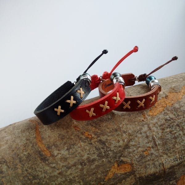 Xplor genuine leather bracelets