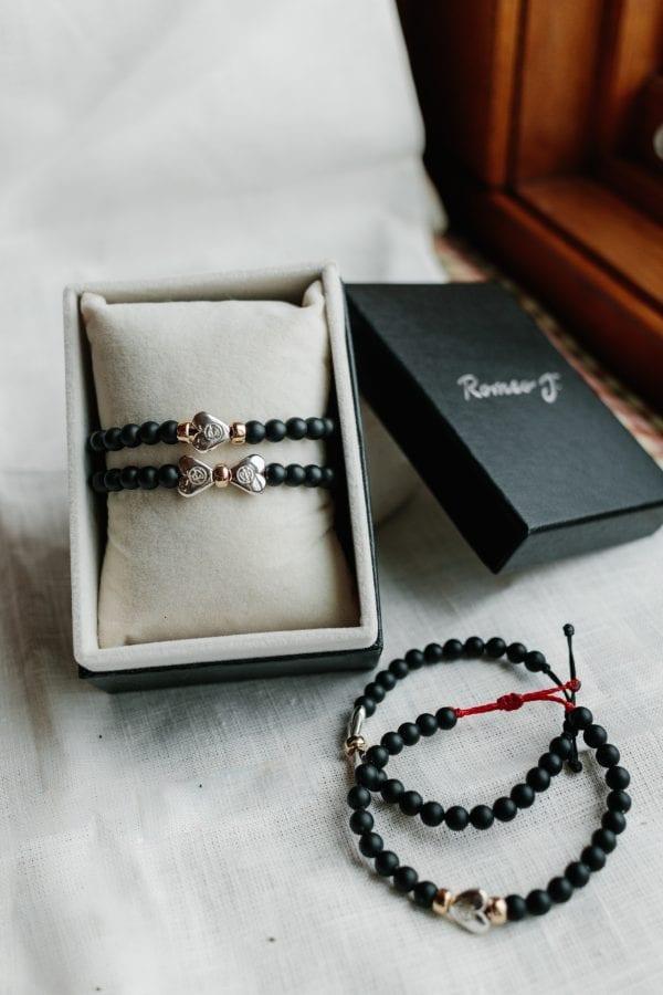 Bracelet St-Valentin avec boite