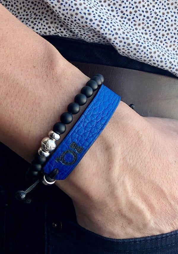 Courage bracelet for Procure to help them fight against prostate cancer