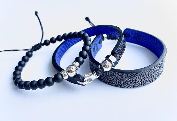 3 bracelets Courage pour combattre le cancer de la prostate avec PROCURE