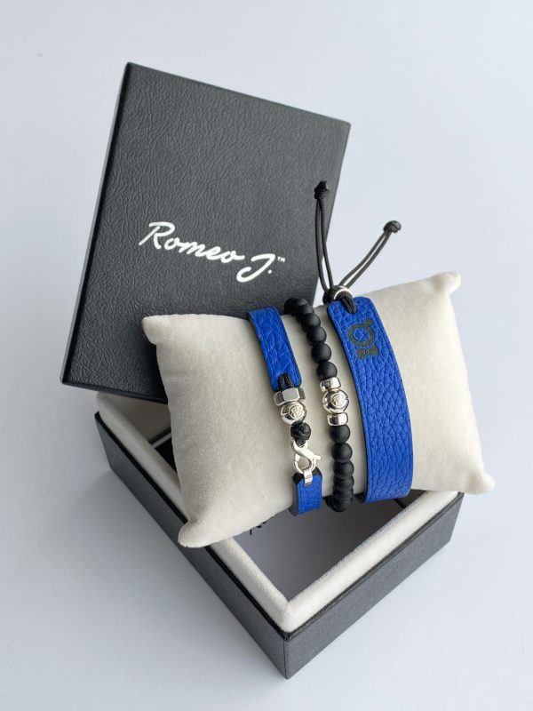 Gift box with 3 bracelets Courage